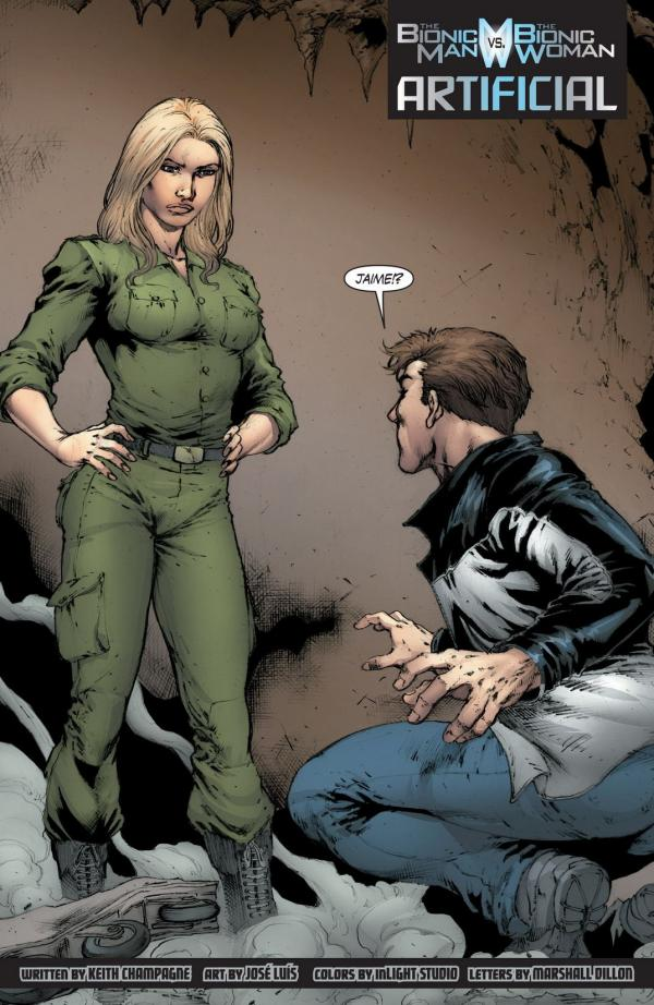 preview The Bionic Man Vs The Bionic Woman