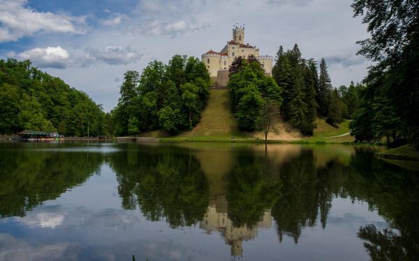 preview Trakošćan Castle