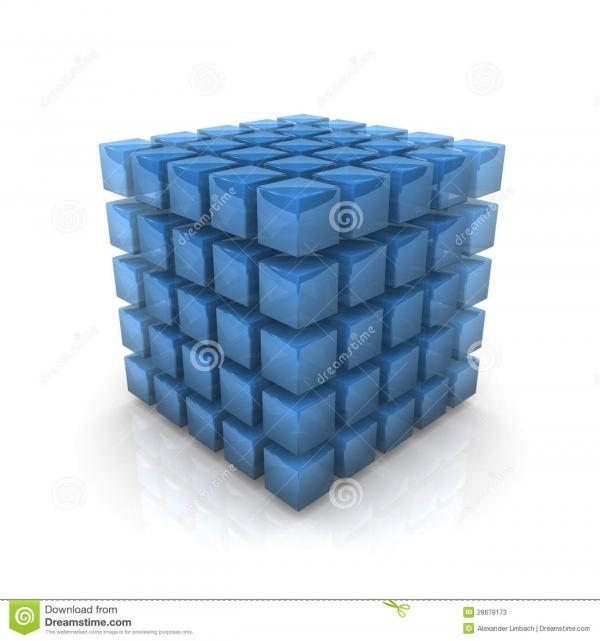 preview Transparent Cubes