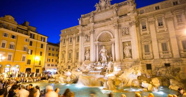 preview Trevi Fountain