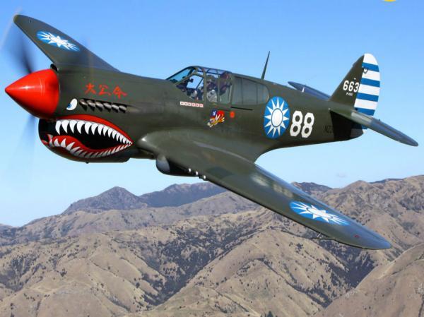 preview Curtiss P-40 Warhawk