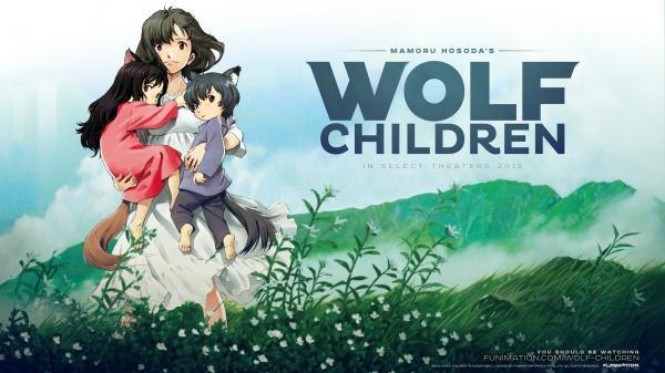 preview Wolf Children