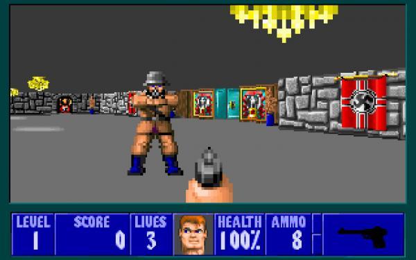 preview Wolfenstein 3D