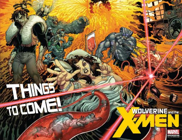 preview Wolverine And The X-Men