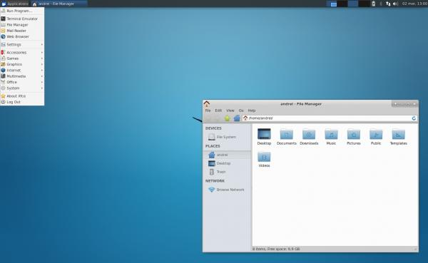 preview XFCE