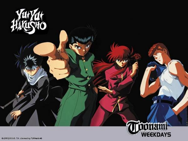 preview Yu Yu Hakusho